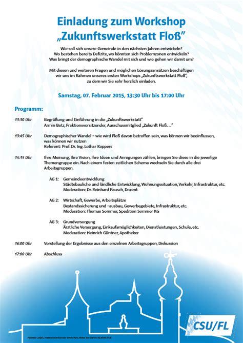 Muster Einladung Workshop workshop am 7 februar 2015 einladung gemeinsam fuer