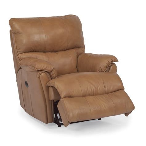 discount leather recliners flexsteel 1217 500p stockton leather power recliner discount furniture at hickory park furniture