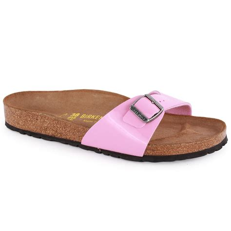 birkenstock womens sandals birkenstock madrid womens sandals in pink
