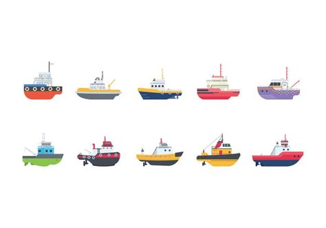 tugboat icon free tugboat vectors download free vector art stock