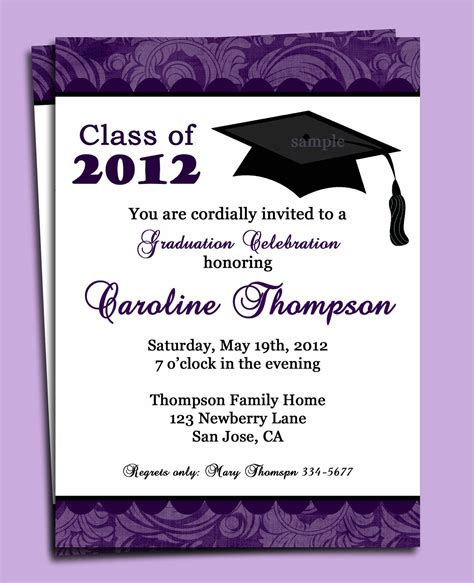 design invitation graduation top 17 graduation party invitation wording you can modify