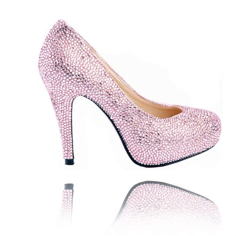 light pink baby shoes light pink sparkly heels qu heel