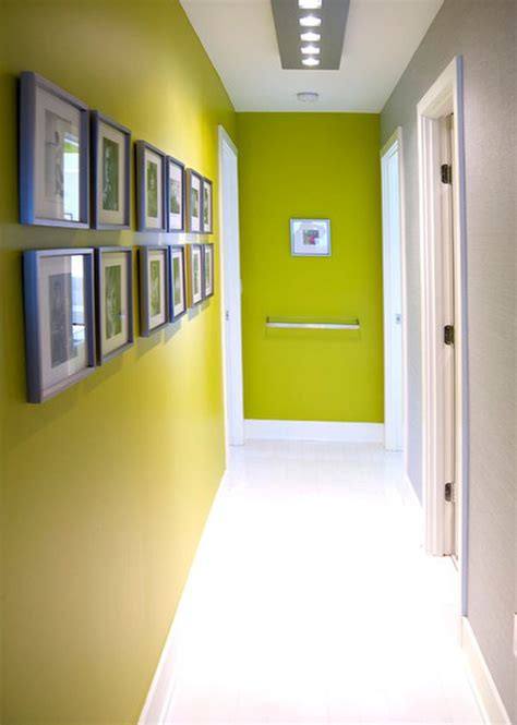 como decorar un pasillo estrecho #1: green-narrow-entryway.jpg