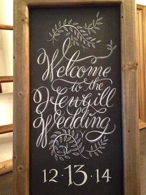 Wedding chalkboard   Postcalligraphy instagram   Wedding