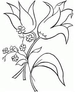 kleurplaten bloemen