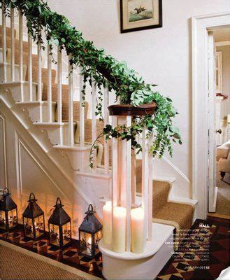 ivy staircase steunk pinterest ivy lodges and ivy christmas stairs image via homes and gardens found