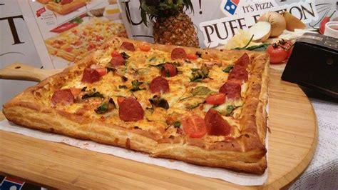 domino pizza asal dari mana menu terbaru dari domino s pizza puff crust kek lava