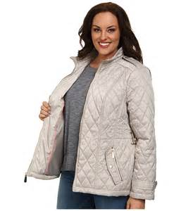 vince camuto plus size quilted coat clay 6pm