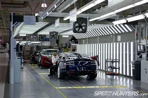 aston martin factory aston martin at gaydon the factory speedhunters