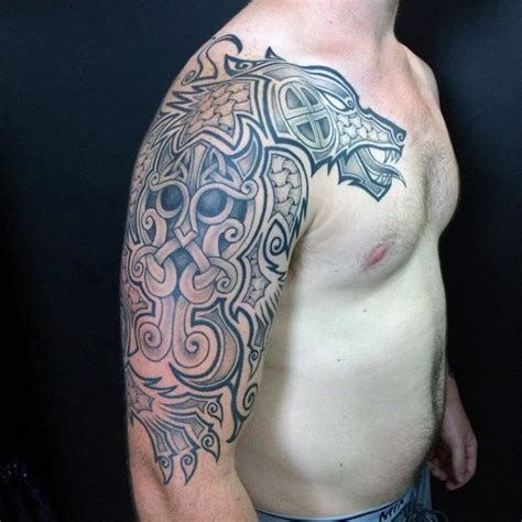 nordic dragon tattoo designs 100 norse tattoos for designs