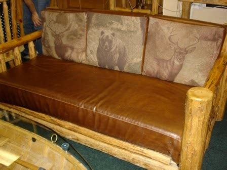 log tables for sale log furniture for sale log with leather cushions 1550