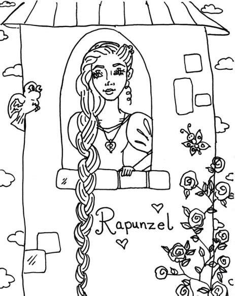 printable coloring pages rapunzel rapunzel coloring pages best coloring pages for kids
