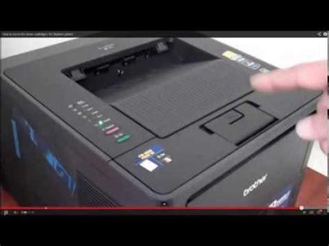 Resetting Brother Hl 2270dw Toner | impressora brother hl 2270dw como eliminar a mensagem