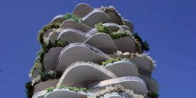 Modern Buildings urban cactus rotterdam netherlands photo gallery