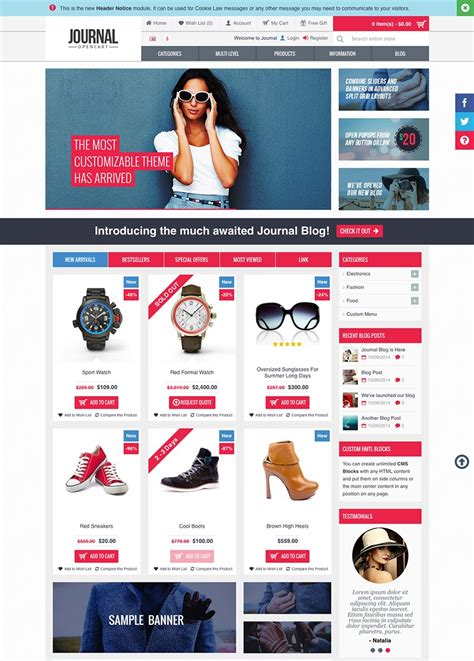 ecommerce site template 15 best ecommerce website templates trending in 2016