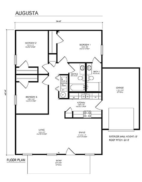 Building Plans Single Family Augusta Single Family Home Designs