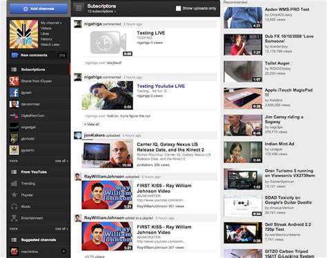 youtube layout changes reddit youtube app for android updated brings ui rev for 10