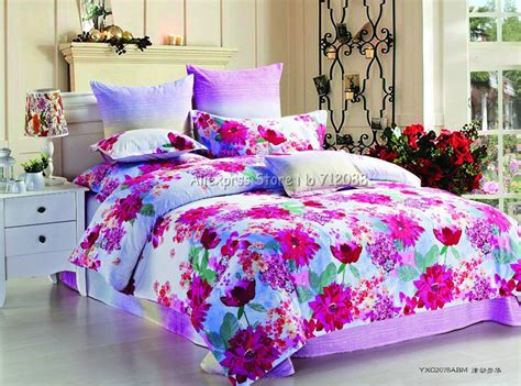bright floral bedding cover set picture more detailed picture about hot sale