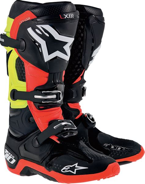 how to size motocross boots alpinestars tech 10 offroad motocross boots all sizes all