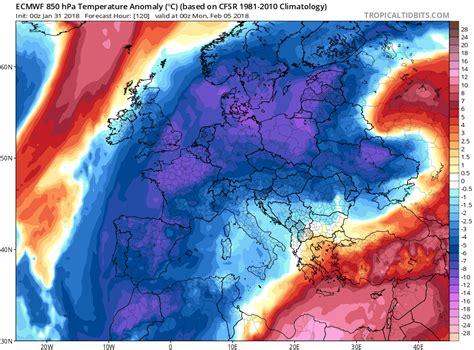oscilacion atlantico norte 2018 meteobrais sucesivas masas de aire fr 237 o polar entraran