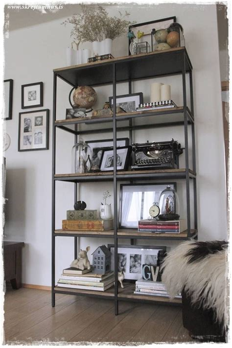 okidoki meubelen vittsjo ikea hack into rustic industrial shelving