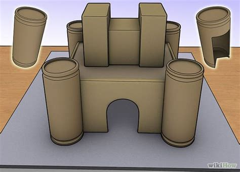 make a model castle paper how to make and how to build