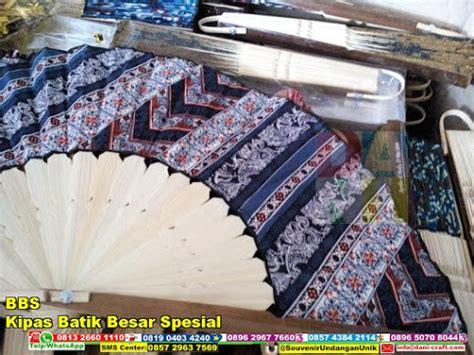 Kipas Besar souvenir kipas batik besar spesial bbs souvenir pernikahan