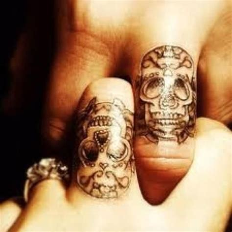 shared tattoos for couples skull tats for discover appreciate admire and