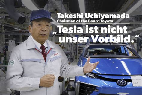 Brennstoffzelle Auto China by Toyota Chairman Takeshi Uchiyamada Zu E Antrieb