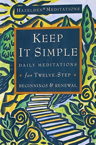 Pdf Keep Simple Meditations Twelve Step Beginnings by Shaman Spirals On Marketplace Sellerratings