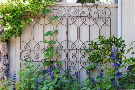 Decorative Plant Trellis 25 Ideas For Decorating Your Garden Fence