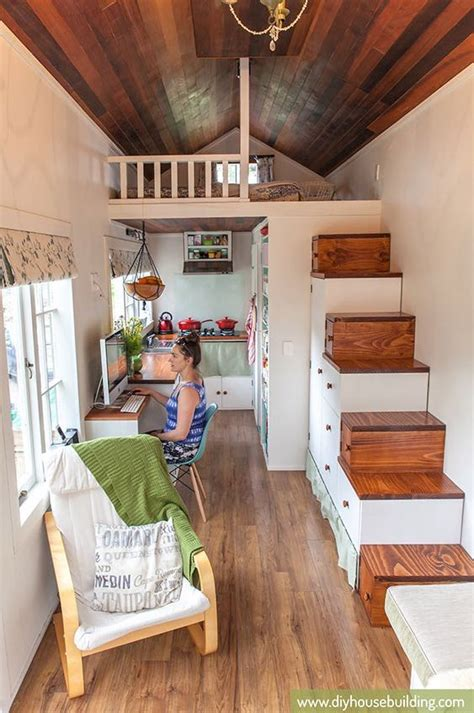 diy house young family s diy tiny house on wheels