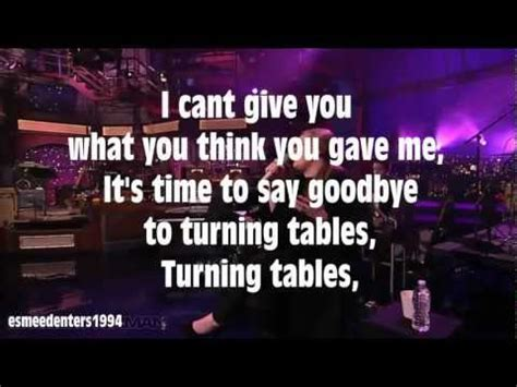 Turning Tables Karaoke by Adele Turning Tables Karaoke