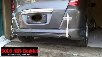 Bodykit Honda Freed Mmc Mugen V 2 Plastik Abs Grade B bodykit freed mugen abs bodykit plastic
