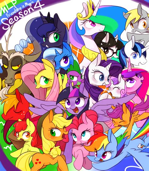 my little pony friendship is magic season 4 ep1 season 4 fanart my little pony friendship