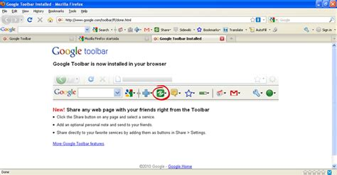 Google Toolbar for Firefox - Download Install Firefox English