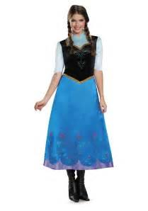 disney frozen halloween costumes frozen traveling anna deluxe costume
