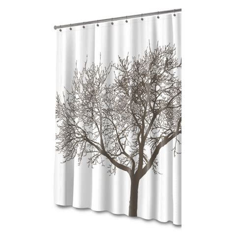 Shower Curtains With Trees Sale Splash Home Tree Mocha Shower Curtain Bathroom Accessories