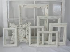 white shabby chic frames shabby chic frame collection shabby chic antique white