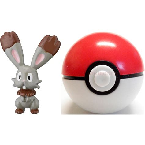 Pokeball Satuan Figure One Pokeball Nendoroid Goingmerry xy keshipoke vol 1 mini figure with pokeball 05 bunnelby