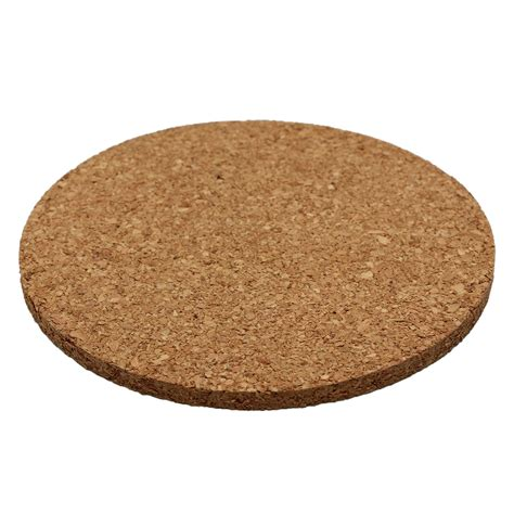 Coffee Cup Mat Coasters 6pcs plain cork coasters coffee drink tea cup mat