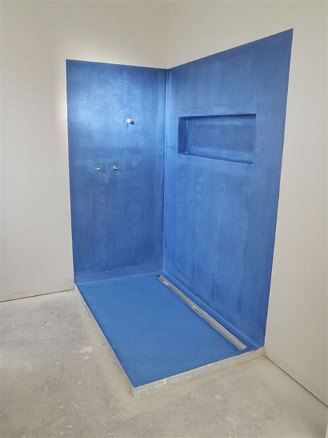 How To Waterproof A Shower by Waterproofing Bathroom Universalcouncil Info
