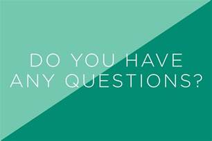 tough questions and the answers want