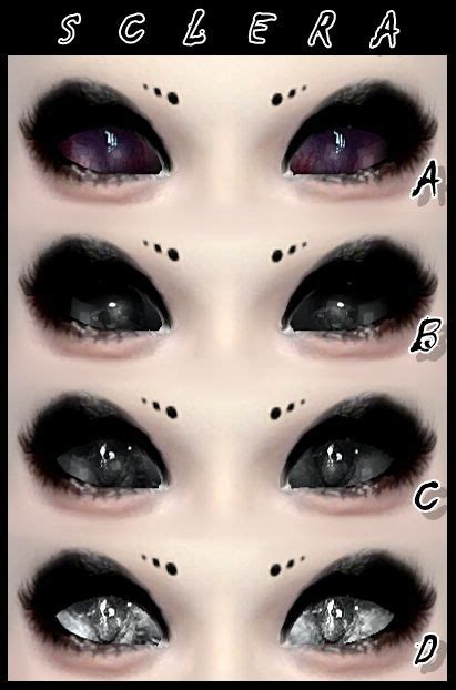 sims 4 cc sclera contact decay clown sims sclera eyes sims 4 downloads sims