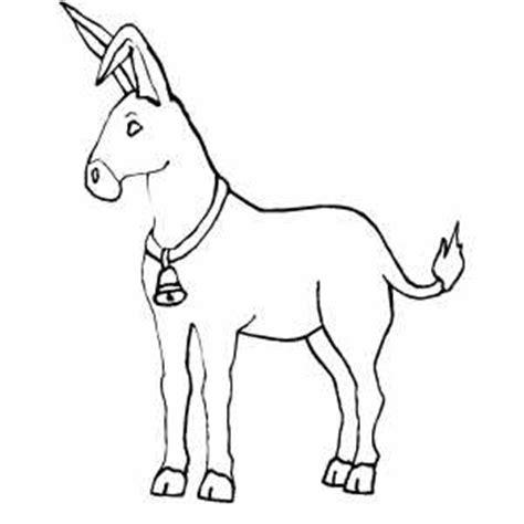 donkey ears coloring page donkey mask pattern