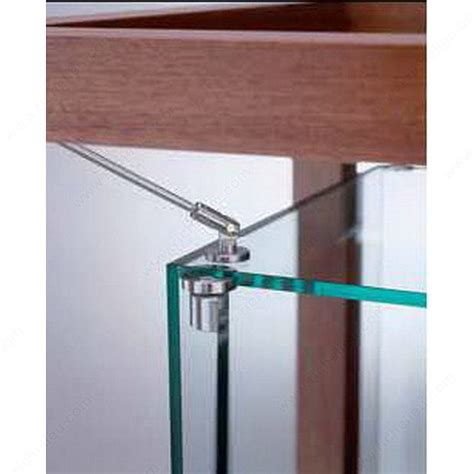 Hinges For Glass Cabinet Doors Glass Door Pivot Hinge For Glass To Glass Cabinet Richelieu Hardware