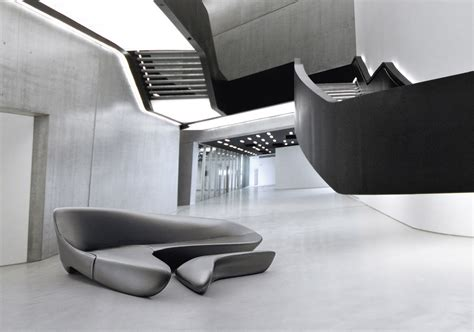 zaha hadid sofa 3d b b italia is sponsor of the exhibition zaha hadid in