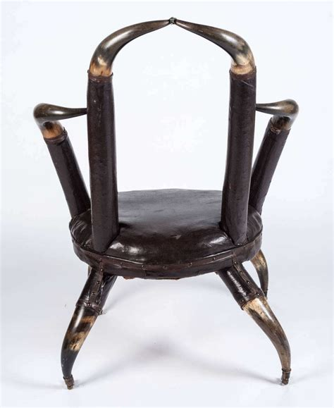 Horn Furniture by And 19th Century Horn Chair At 1stdibs