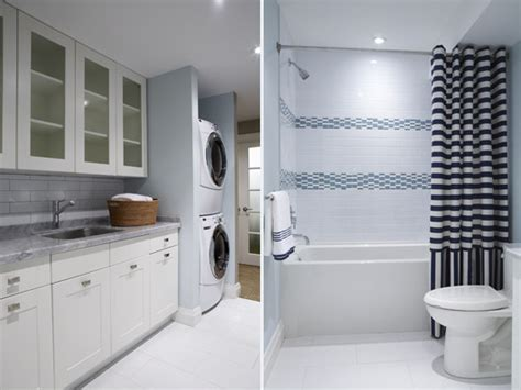 laundry bathroom modern house interior