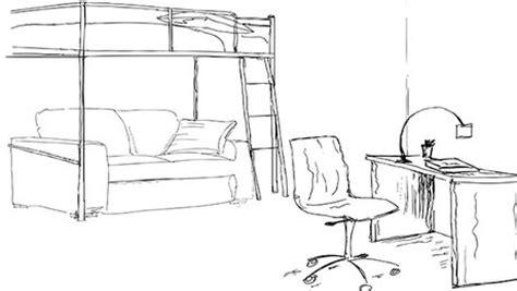 Comment Dessiner Sa Chambre by Dessin D Une Chambre Maison Design Apsip